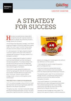 Cookie Time: Strategy Success